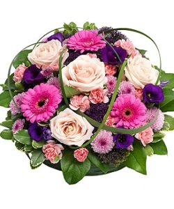 Fleurs Amanda-Weybridge-Surrey-Funeral-Flowers-Posies-wreath