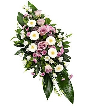 Fleurs-amanda-Surrey-funeral-flowers-spray-lilac